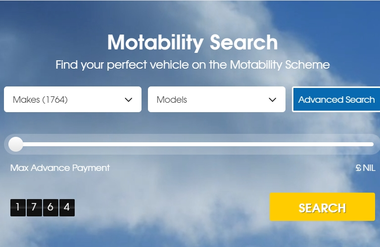 Search All Motability Offers