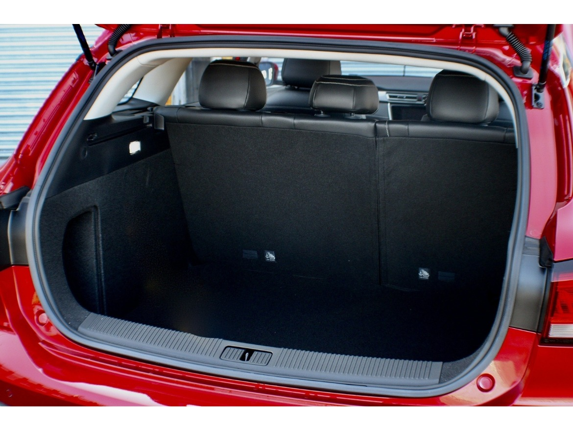 MG5 EV Motability Boot Space