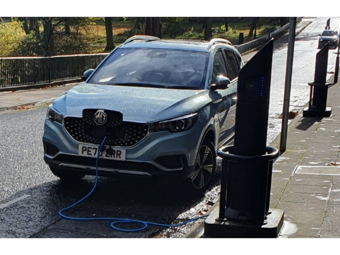 Charging The MG ZS EV