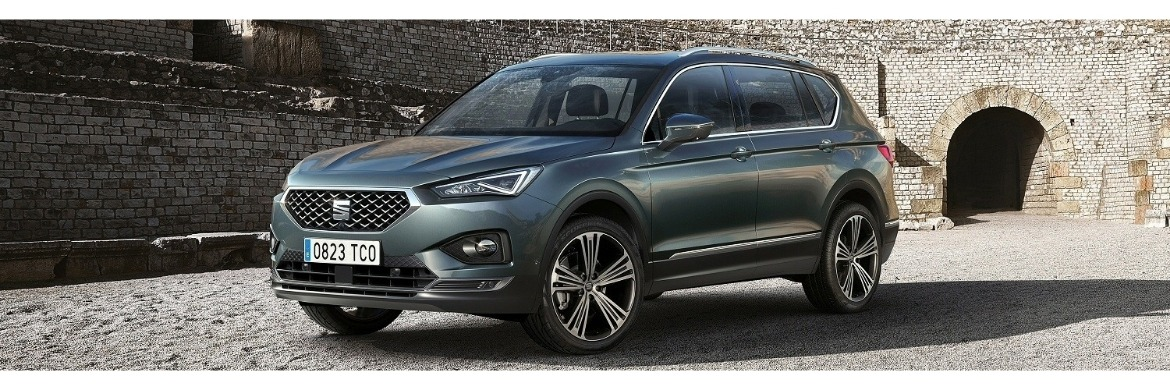 New 2019 SEAT Tarraco Motability Car