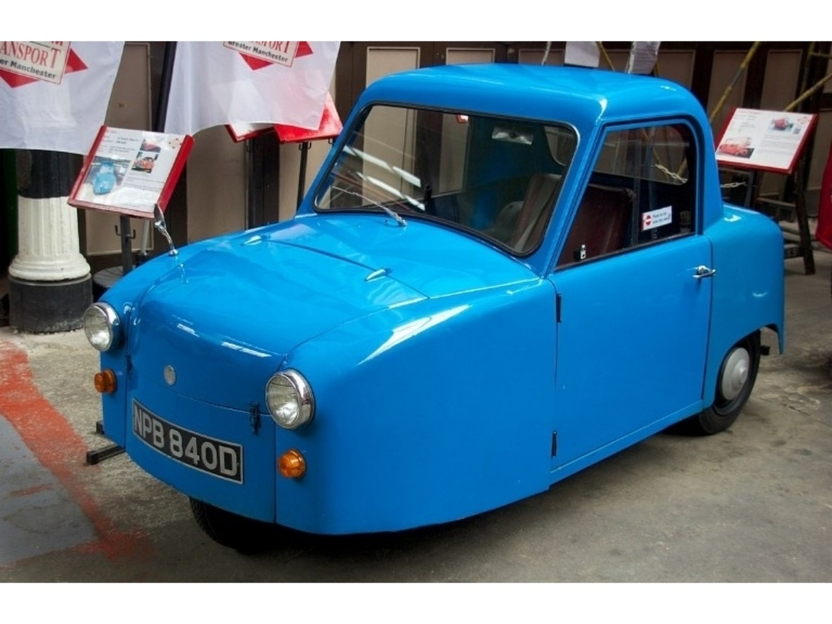 The Invacar was a small single-seater vehicle designed to be used by disabled drivers.