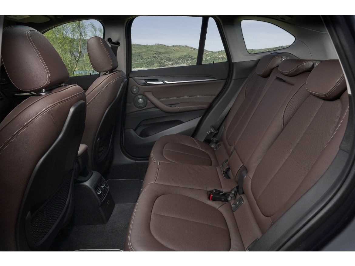 New BMW X1 SUV Rear Seats
