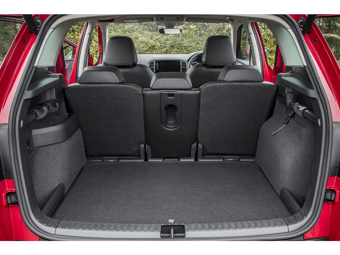 Skoda Karoq Boot Space Motability