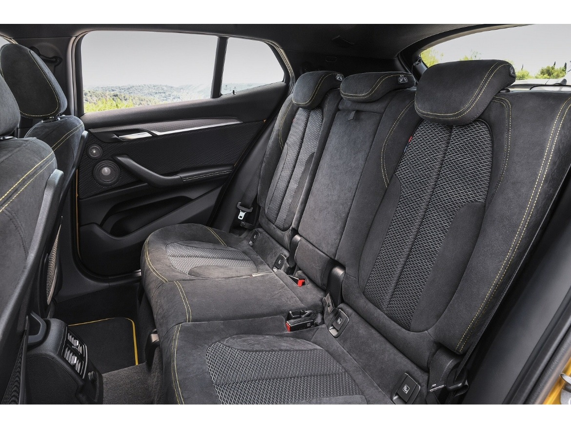 BMW X2 Rear Seats Motability