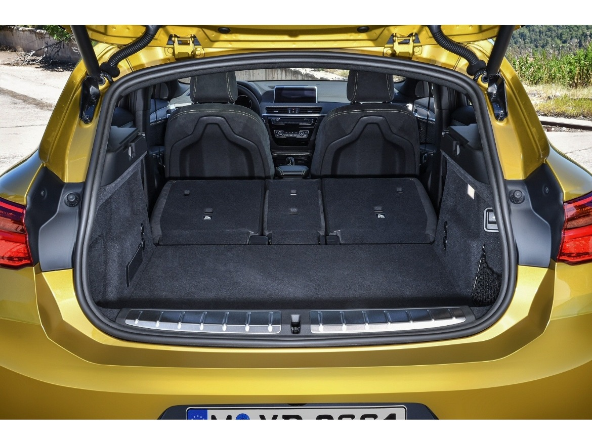 BMW X2 Boot Space Motability