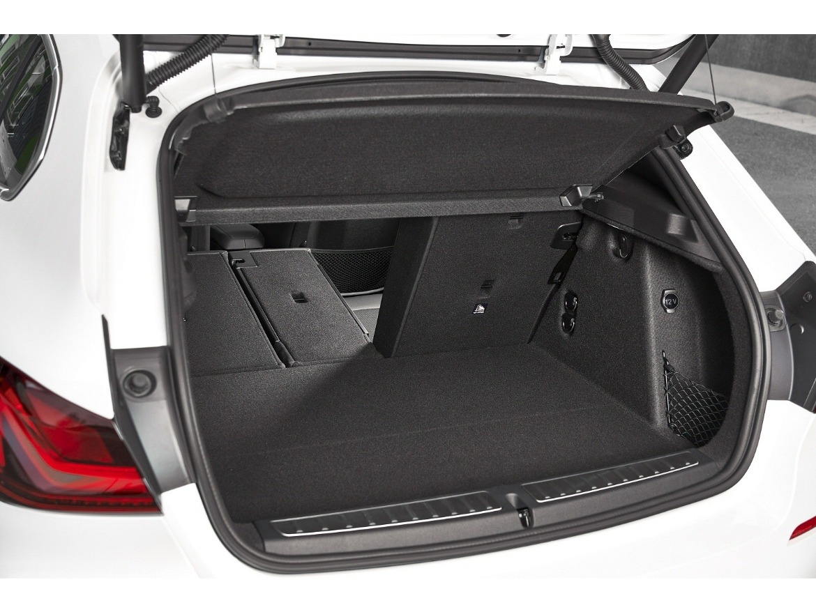BMW 1 Series Boot Space