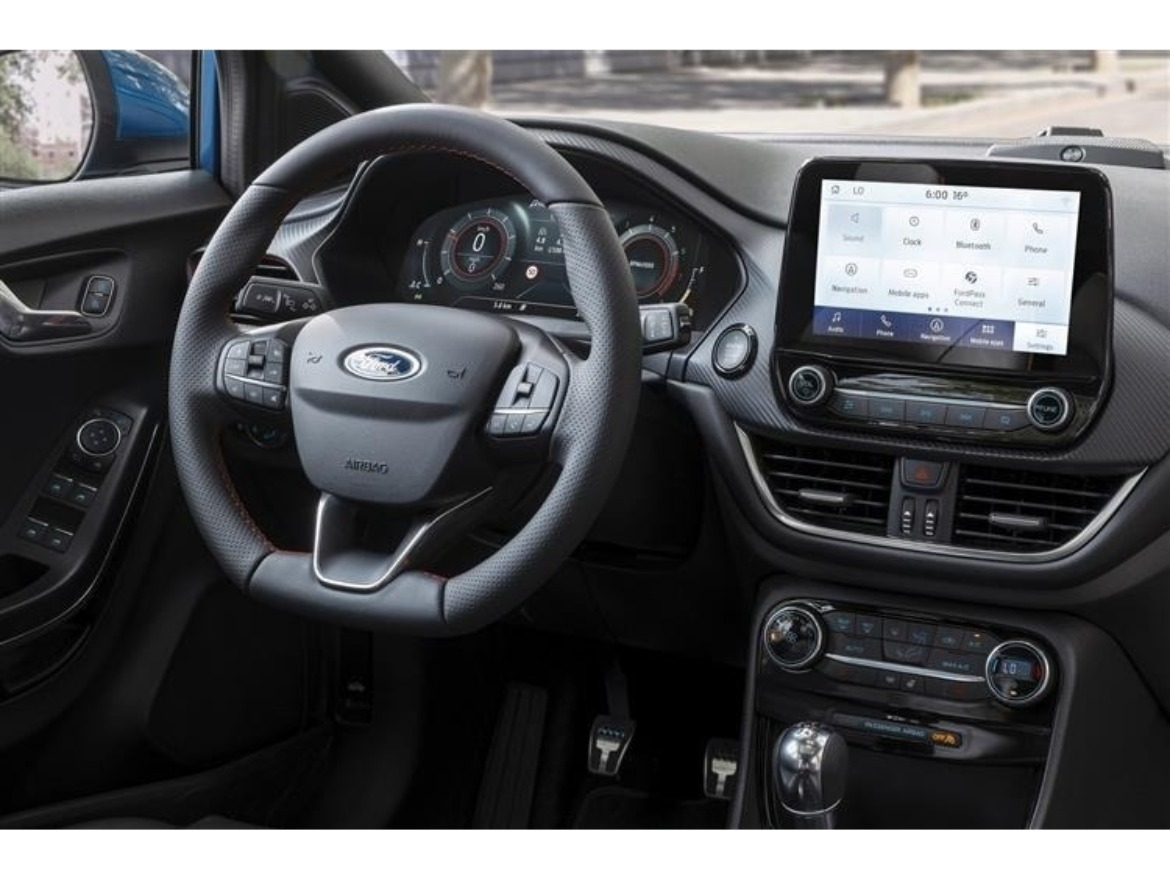 Ford Puma Dashboard Motability