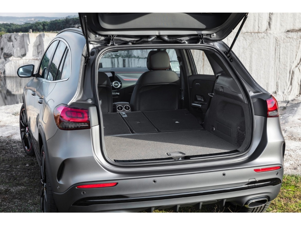 New 2020 Mercedes Benz GLA Motability Boot Space