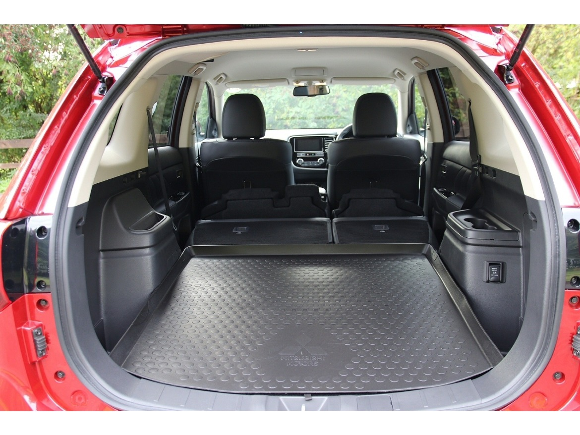 New Mitsubishi Outlander PHEV Boot Space Motability