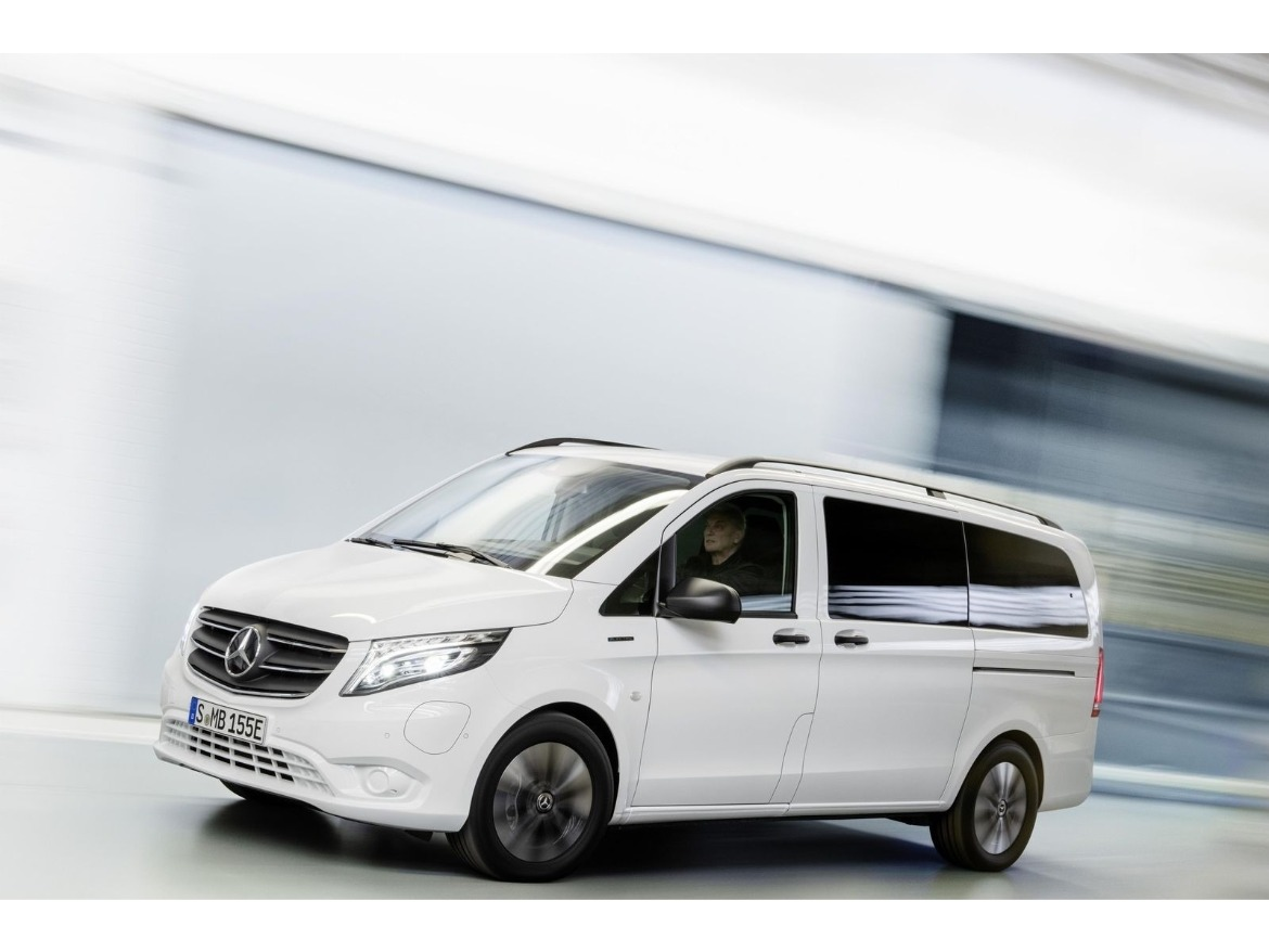 Mercedes Benz eVito Electric Vehicle Motability
